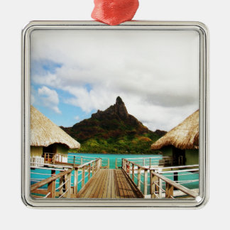 Mount Otemanu Christmas Ornament