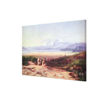 Mount Parnassus, Lake Cephissus and the Plains of Canvas Print