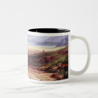Mount Parnassus, Lake Cephissus and the Plains of Two-Tone Coffee Mug