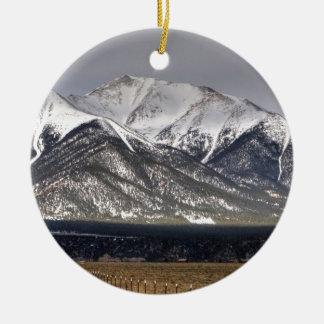 Mount Princeton Christmas Ornament