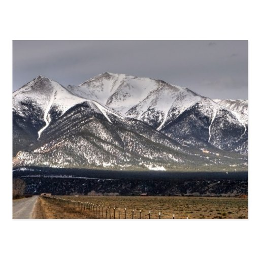 Mount Princeton Post Card
