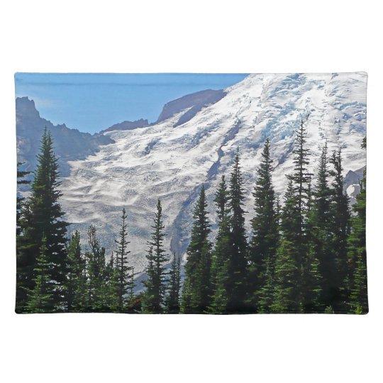 Mount Rainier 4 Place Mats