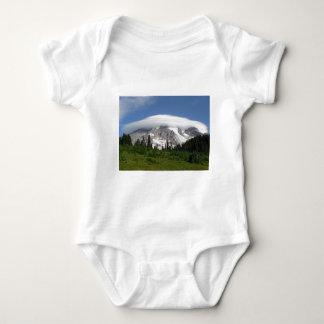 Mount Rainier 5 Baby Bodysuit