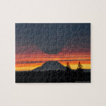 Mount Rainier and its Shadow Puzzle