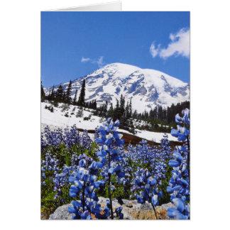 Mount Rainier at Paradise Point Card