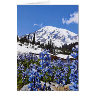 Mount Rainier at Paradise Point Note Card