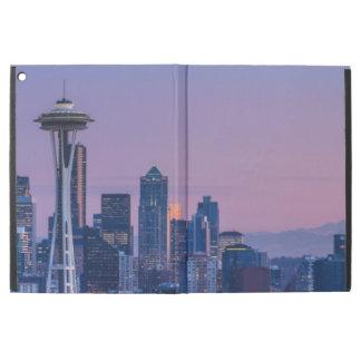 "Mount Rainier in the background. iPad Pro 12.9"" Case"