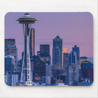 Mount Rainier in the background. Mouse Mat