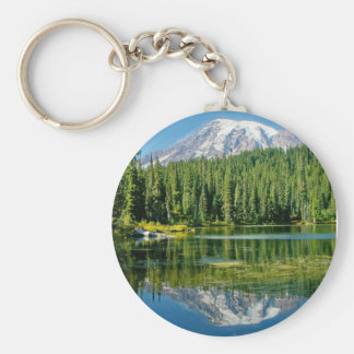 Mount Rainier keychain