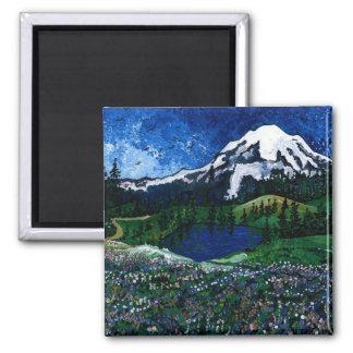 Mount Rainier Magnet