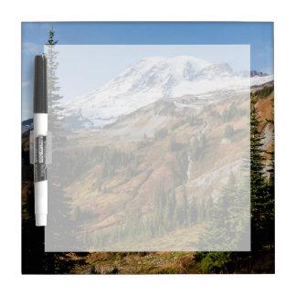 Mount Rainier National Park, autumn Dry Erase Whiteboard