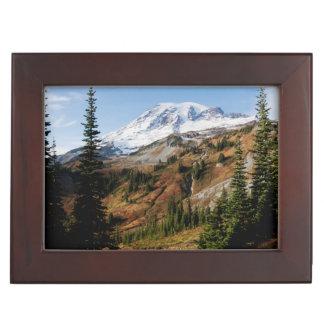 Mount Rainier National Park, autumn Keepsake Box