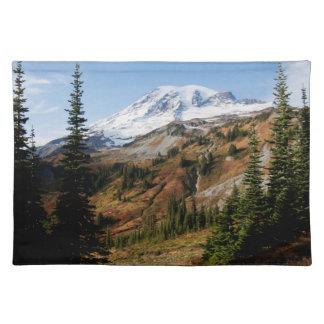 Mount Rainier National Park, autumn Place Mats
