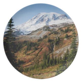 Mount Rainier National Park, autumn Plate