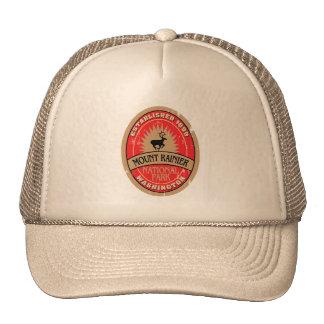 Mount Rainier National Park Trucker Hats