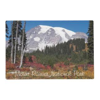 Mount Rainier National Park Laminated Placemat