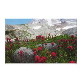 Mount Rainier National Park, Mount Rainier 1 Canvas Print