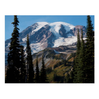 Mount Rainier National Park, Mount Rainier 2 Postcard