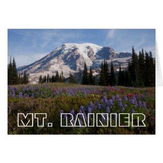 Mount Rainier National Park, Mount Rainier 3 Card