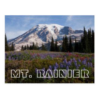 Mount Rainier National Park, Mount Rainier 3 Postcard