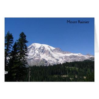 Mount Rainier National Park Note Card