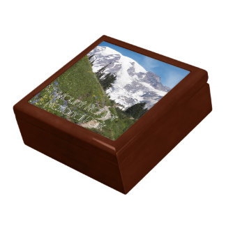 Mount Rainier National Park Photo Gift Box