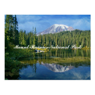 Mount Rainier National Park Postcard