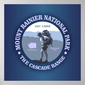 Mount Rainier National Park Posters