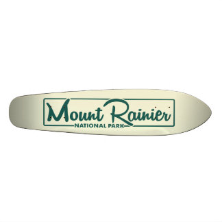 Mount Rainier National Park Skate Board Decks