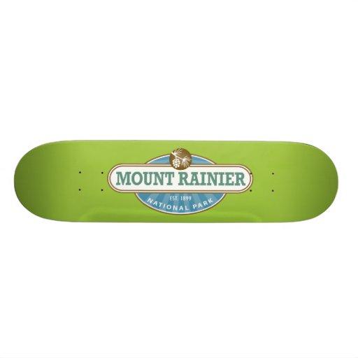 Mount Rainier National Park Skate Deck
