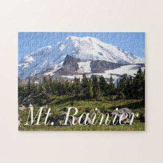 Mount Rainier National Park, WA. Spray Park Jigsaw Puzzles
