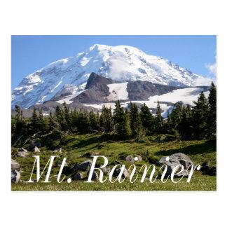 Mount Rainier National Park, WA. Spray Park Postcard