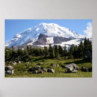 Mount Rainier National Park, WA. Spray Park Poster