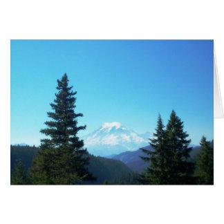 Mount Rainier Note Card