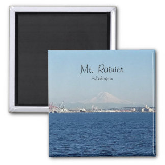 Mount Rainier Seattle Washington Magnet