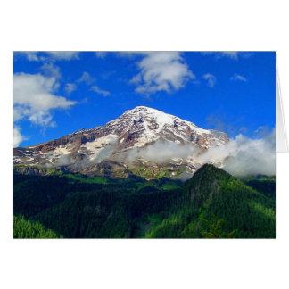 Mount Rainier Viewpoint Note Card