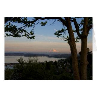 Mount Rainier Vista Card