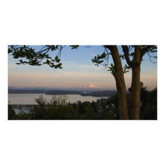 Mount Rainier Vista Photo Card
