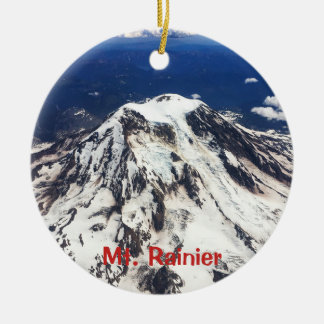 Mount Rainier, Washington, Cascades Christmas Ornament