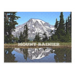 Mount Rainier - Washington State Postcard
