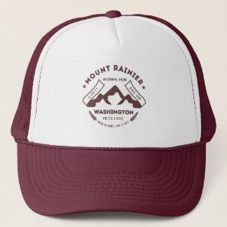 Mount Rainier Washington Trucker Hat