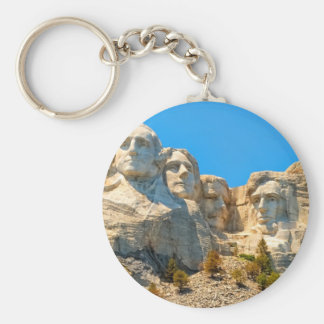 Mount Rushmore Classic View Key Chains
