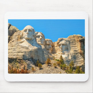 Mount Rushmore Classic View Mouse Pad