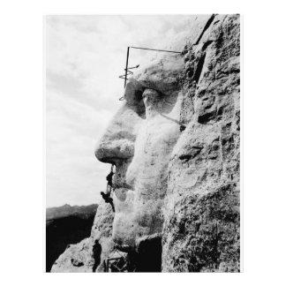 Mount Rushmore construction Flyer Design