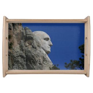 Mount Rushmore (George Washington) photo Serving Platters