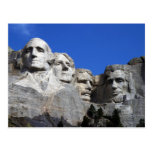 Mount Rushmore National Memorial Monument Postcard