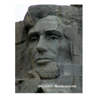 Mount Rushmore National Memorial Postcard