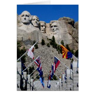 Mount Rushmore National Memorial Souvenir Cards