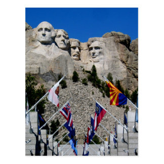 Mount Rushmore National Memorial Souvenir Postcards