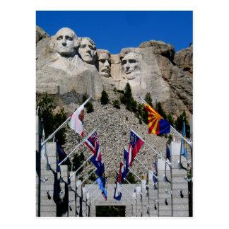 Mount Rushmore National Memorial Souvenir Post Cards